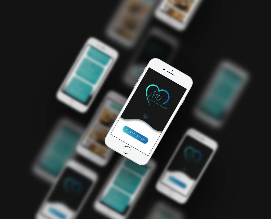 _sipőczart_artofmyheart_mobil_webtervezés