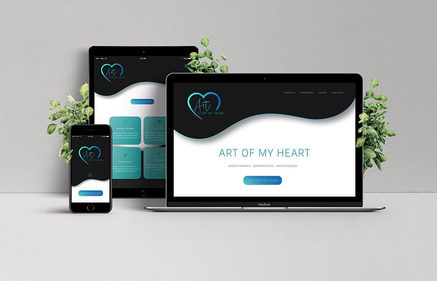 _sipőczart_artofmyheart_responsive_webtervezés